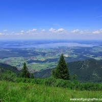 High above the Chiemsee