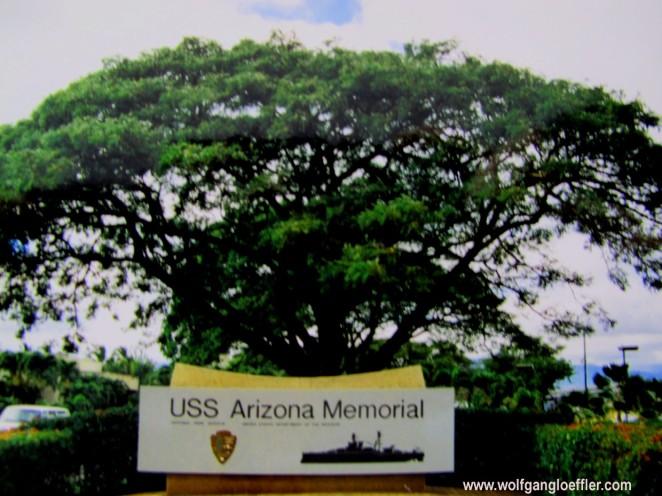 Eingang zum Arizona Memorial