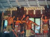 Haka, ein traditioneller Tanz der Maori