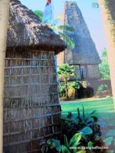 typisches Dorf der Fijianer