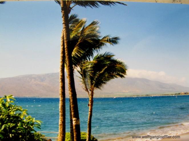 Blick von Kihei auf den Nordteil von Maui