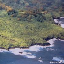 Luftaufnahme von Mauis Ostküste