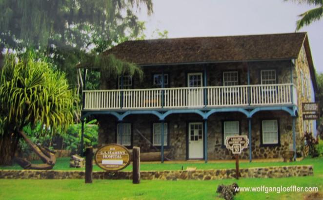 historische Krankenstation in Lahaian