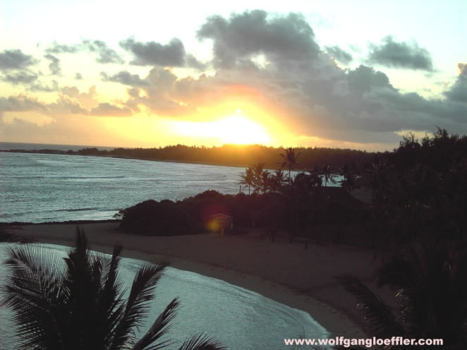 Sunrise over Turtle Bay