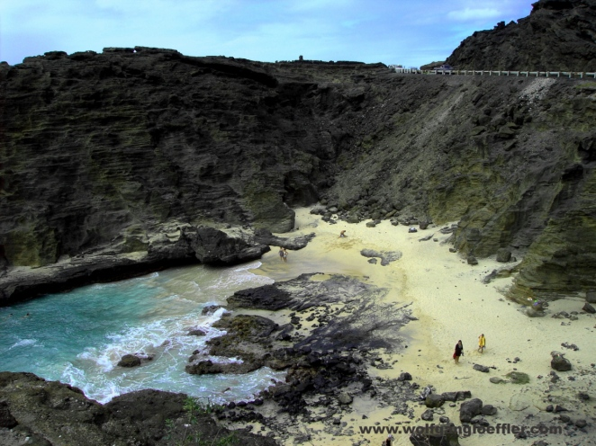 Sndy Beach, a secluded beach