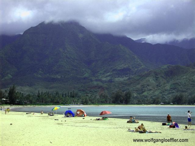 Traumstrand im Norden Kauai's