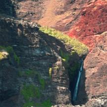 Wasserfall an der Napali Coast