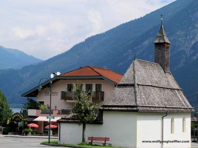 Pertisau am Achensee, an der Bergbahn
