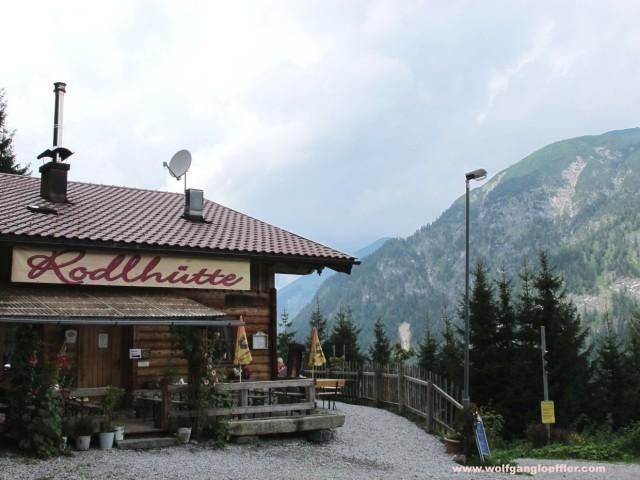 Einladende Hütte mit netter Terrasse