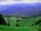 26-blick über abhang in die Berge