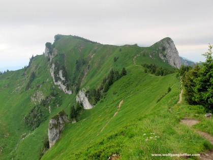28-1. Gipfel mit Gratweg