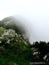 92-weg im nebel