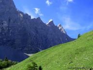Aufstieg zur Falkenhüttee