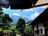 Blick vom Almgasthof