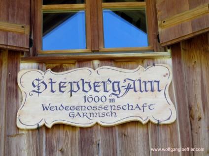 stepbergalm-schild