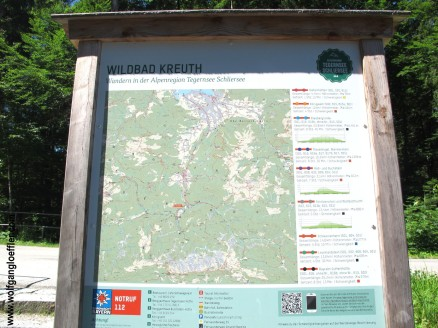 Wanderparkplatz Wildbad Kreuth