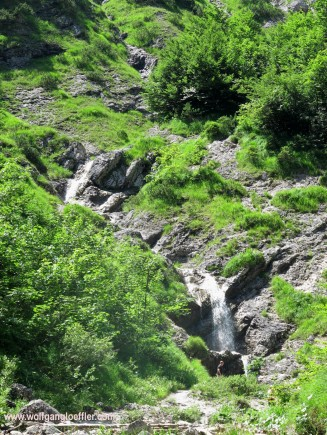 waterfall in the Wolfsschlucht
