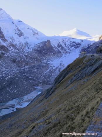 019-blick auf den gletscher und Gipfel