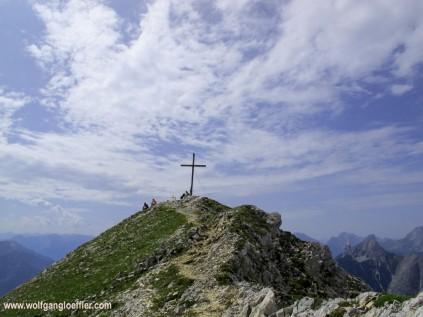 summit of the Brunnensteinspitze
