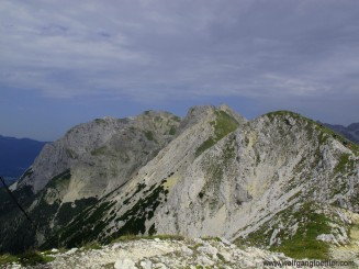 via ferrata to the Karwendel cabins