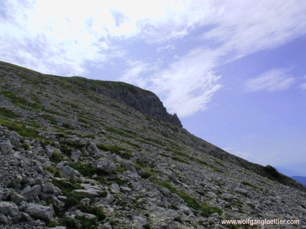 view of the summit