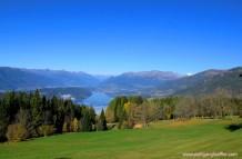 view over the lake Millstatt
