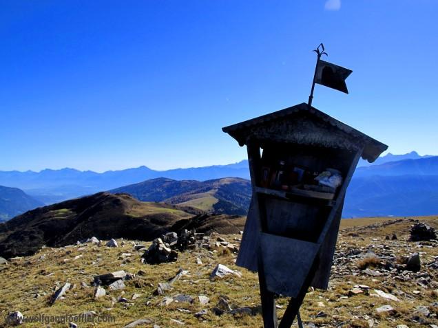 Marterl am Gipfel