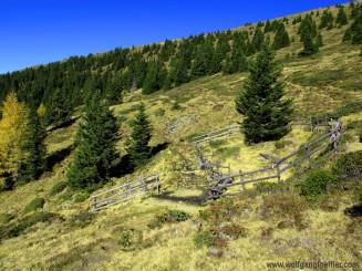 Quelle beim Abstieg
