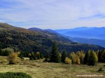 view of the Karawanken