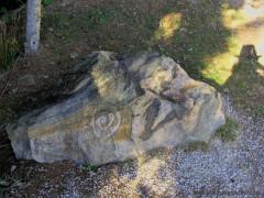 Stein an den Orten der Kraft