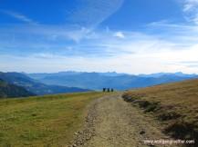110-blick in karawanken und julische alpen