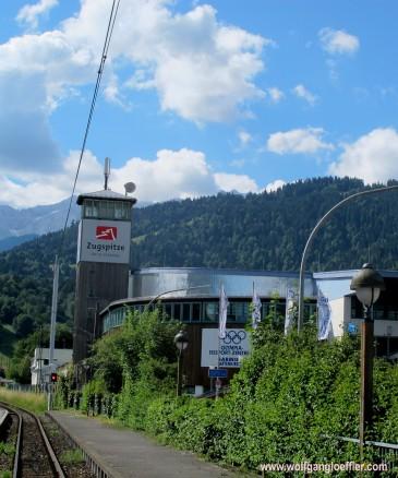 Bahnhof der Zugspitzbahn