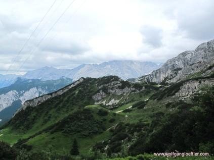 Blick in das Karwendel