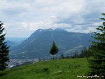 Blick auf das Estergebirge