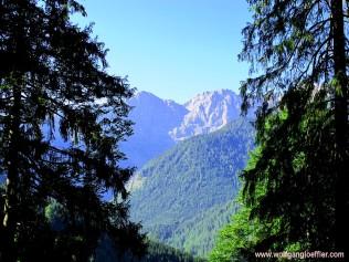 Blick zur Krapfenkarspitze