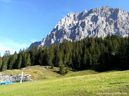 Ehrwalder Alm, Zugspitze