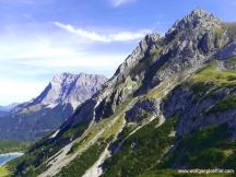 Zugspitze und Tajaköpfe