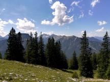 Panorama beim Abstieg