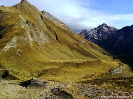 Blick zur Wurmaulspitze
