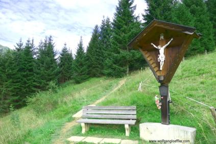 Einstieg zum Gipfel