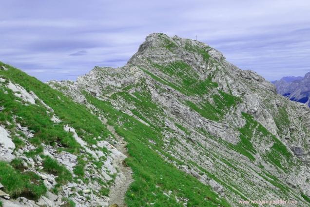 Gipfelgrat zum Daniel