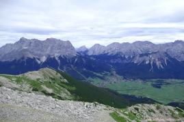 Ehrwalder Becken und Zugspitze