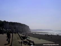 Strandpromenade in Dieppe