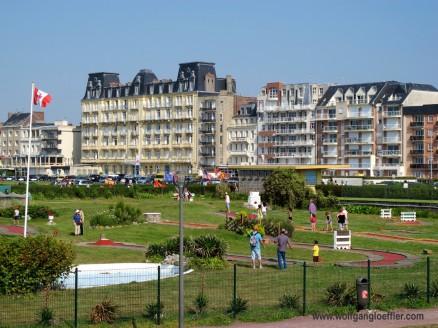 Dieppe Strandpromenade